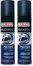 2x PULICASCO MA-FRA SPRAY PROFUMO SCHIUMA IGIENIZZA PULISCE CASCO MOTO BICI MTB