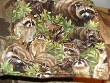 Microwave Bowl Holder Racoon Coon Camo reversible  Bowl Potholder  Bowl Cover