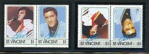 ST VINCENT Elvis Presley ERROR: Scott #876 $1 INVERTED CENTER $$$