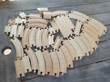 Thomas & Friends Wooden Train Tracks Straight Curved Ramps Risers