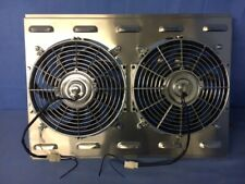 26 X 19 Universal Cross Flow Shroud Amp Dual 12 Fan Usa Made Cfm 3200