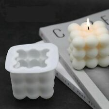 DIY Candle Mould Soy Wax Aromatherapy Plaster Candle 3D Silicone Wax Soap Mold
