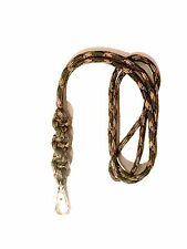 Barley Twist Design Dog Whistle Lanyard In Woodland Camo - For ACME Whistle