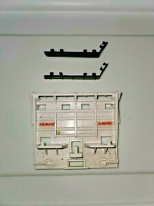 Vintage GI JOE Parts - Snow Cat - Back Panel & Side Rails - 1985