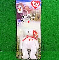 *NEW in BOX* RARE 1996 Retired Maple Bear McDonald's Ty Beanie Baby Plush Toy