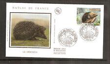 FRANCE 2001 SG3717 Yvert 3383 FDC (Paris) Animaux-Hérisson-Europe Occidentale