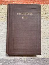 METHODIST EPISCOPAL CHURCH SOUTH - DOCTRINES & DISCIPLINE Vtg 1914 Hardback Book