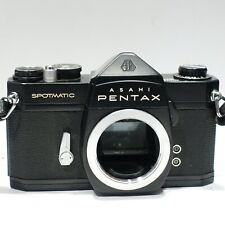 Asahi Pentax Spotmatic SP Rare Black paint 35mm SLR camera body