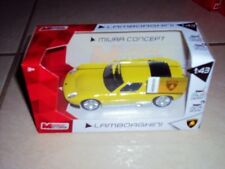 Voiture Lamborghini Miura Concept jaune 1/43 Mondo Motors neuf