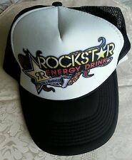 "Rockstar Energy Drink Trucker Hat Cap Mesh Snapback ""Party Like a Rockstar"""