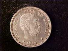 HAWAII 10 CENTS 1883