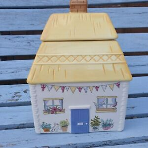 Beautiful Debenhams At Home Ashley Thomas Country Cottage biscuit cannister