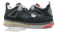 NIKE AIR JORDAN FUSION AJF4 USED SIZE 15 BLACK VARSITY RED STEALTH 364342 061
