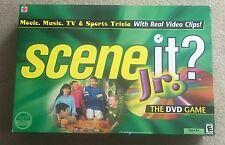 2004 Scene It? Jr. Edition DVD Trivia Children's Game By Mattel 100% Complete