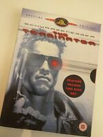 Dvd the  terminator/SCHWARZÉNEGGER SPECIAL EDITION  ( in English)