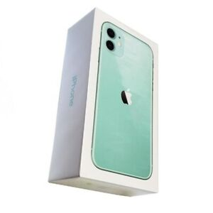 Empty Box For Apple iPhone 11 Green 64GB With Free Charging Cable