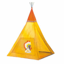 WIGWAM KIDS CHILDRENS INDOOR OUTDOOR INDIAN TEEPEE PLAY HOUSE TENT DEN TY585