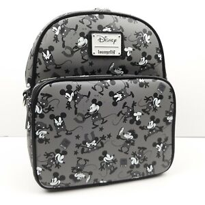 Loungefly Disney Mickey Mouse Plane Crazy Mini Backpack Convertible Crossbody