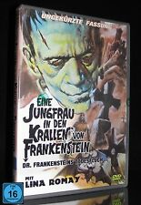 DVD EINE JUNGFRAU IN DEN KRALLEN VON FRANKENSTEIN - UNCUT - LINA ROMAY ** NEU **