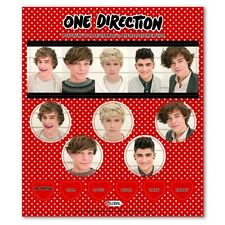 One Direction 'Phase 3' 12 Piece Sticker Set [Decoration] Brand New Gift
