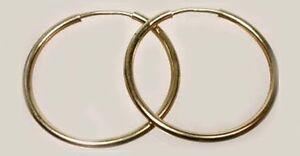 Quality USA Made 14ktGF 21mm Endless Hoop Ancient Egypt Mycenae Phoenicia Celtic