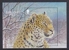 Guernsey 2009 especies en peligro de extinción (Leopardo) M/U/Menta Hoja