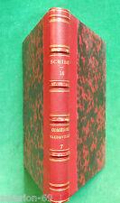 EUGENE SCRIBE THEATRE COMEDIES ET VAUDEVILLES T7  1857 RELIE