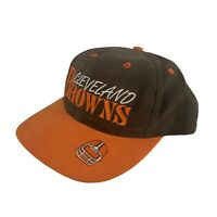 Vintage Cleveland Browns Snap Back Authentic Team NFL Cap Hat 1990s