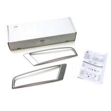 Seat Ateca Nebelscheinwerfer Blenden Crossover Silber 575071004 Zierblenden NEU