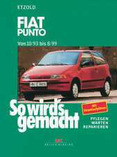 Fiat Punto ab 1993 Reparaturbuch Reparaturanleitung So wirds gemacht Buch Book
