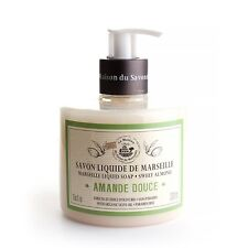La Maison du Savon FlüssigSeife mit Bio-Olivenöl  Mandelmilch 330 ml  M26021