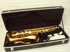 Professional Gold Tenor Saxophone
