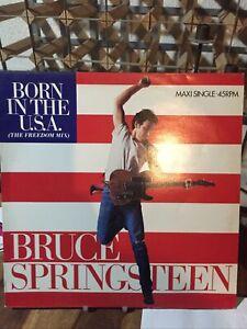 Bruce Springsteen Born In The Usa Maxi45