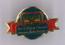 The Disney Channel pin - TV network Television media -  trader badge