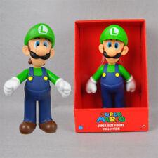 "1X Large PVC Figure Super Mario Brothers Action Figure Luigi 9""/23cm"