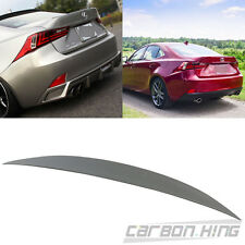 Painted For LEUXS IS250 IS200t 4Dr High Kick Performance Trunk Boot Spoiler 2018
