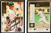 Scott Lydy Signed 1994 Upper Deck #218 Card Oakland Athletics Auto Autograph