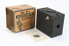 AGFA ANSCO NO. 2A GOODWIN CAMERA, WITH INSTRUCTION BOOK AND WORN BOX/cks/198095