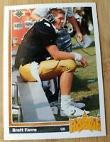 1991-92 Brett Favre NFL Upper Deck TRUE STAR Rookie RC #13 MINT HOF PSA NEW