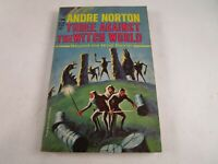 """Vintage """"Three Against the Witch World"""" by Andre Norton 1965 Ace 1st Printing PB"""