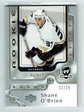 06-07 UD The Cup  Shane O'Brien  /25  Platinum Spectrum  Rookie