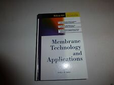 Membrane Technology and Applications by Richard W. Baker, HB 2000 1st Edition276
