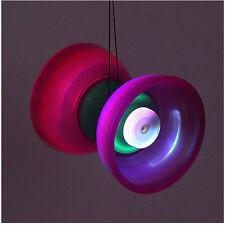 LED Light Up Diabolo YO YO Pro 5 Bearing Diabolo Juggling Toy Kid Gift Big Size