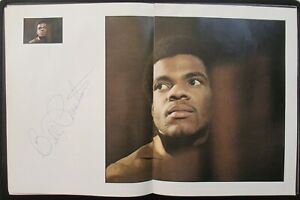 Beatles 1970 ' GET BACK ' BOOK BEAUTIFULLY SIGNED BY BILLY PRESTON!