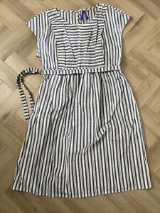 Seraphine Striped Maternity And Nursing Dress, Size 12, New