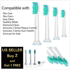 4Pcs Philips Sonicare ProResults HX6013/14 Replacement Toothbrush Brush Head