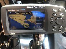 Garmin StreetPilot III Street Pilot 3 GPS With Car Cord