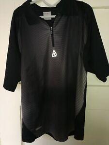 Poloshirt Reactiv grau schwarz Gr. XL Länge 72cm