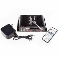 Lepy LP-600 Hi-Fi Mini Audio 25W*2 Amplifier with USB SD MP3 and Power adapter
