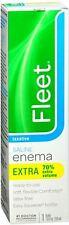 Fleet Extra Cleansing - Relief Enema 7.80 oz (Pack of 8)